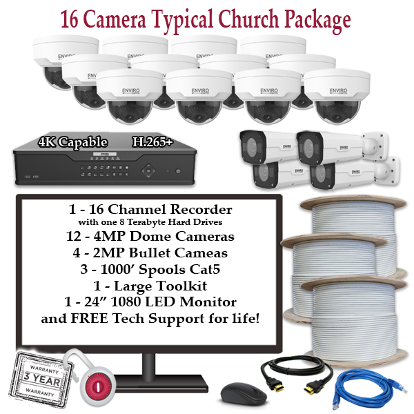 16 camera church package - Home
